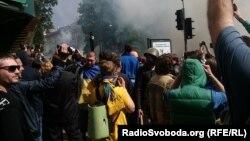 Під час сутичок в Одесі, 2 травня 2014 року