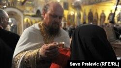 Vjerski obred u crkvi, Podgorica