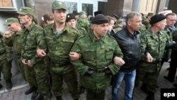 Члены отрядов самообороны в Севастополе, Крым. Иллюстративное фото.