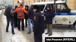 Искандера Ясавеева задерживает полиция