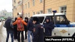 Задержание активистов в Казани, 26 ноября 2016