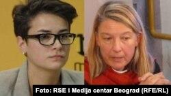 Sandra Orlović i Vesna Teršelič