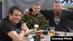 Слева направо: Радомир Почуча, Влад Станич, Александр Синджелич