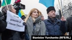 Еміне Джеппар і Різа Шевкієв, Київ, 10 грудня 2015 року