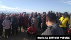 Группа людей пыталась захватить земельный участок в «Калыс-Ордо».