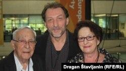 Lela Margitić, Pero Kvrgić i Marko Torjanac u sjedištu RSE u Pragu