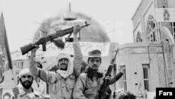 سربازان ایران در خرمشهر