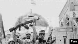 سربازان ایرانی پس از آزادی خرمشهر