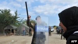 Makedonija: Suzavac i šok bombe za izbeglice