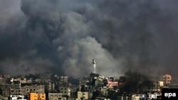 Израил танклары Газзәне утка тота. 21 июль, 2014