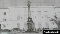 Эскиз памятника. ФОТО: Российская газета