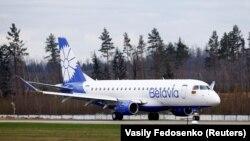Belavia dövlət hava yolları şirkətinin təyyarəsi (Arxiv fotosu)