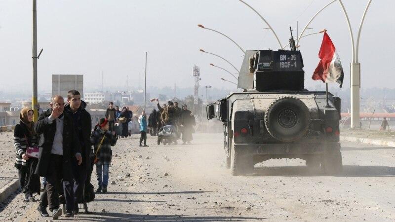 ИД целосно истерана од источниот брег на Тигар во Мосул