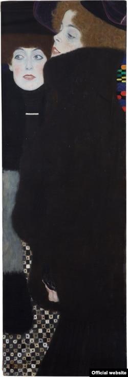 Gustav Klimt, Prietenele (Surorile), în expoziția de la Leopold Museum