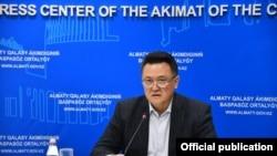 Тлеухан Абилдаев, глава управления общественного здоровья Алматы.