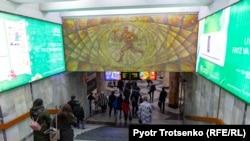Вход в метро Ташкента. Архивное фото.