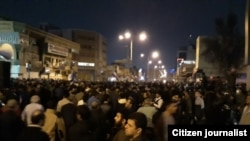 Protets also took place in the southwestern city of Ahvaz, in the oil producing region.