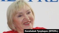 «Әділ сөз» баспасөз еркіндігін қорғау ұйымы жетекшісі Тамара Калеева.