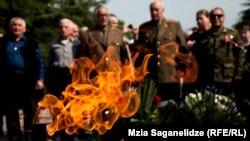 Ветераны в тбилисском парке Ваке (архивное фото)