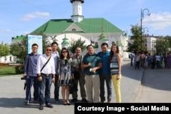 Китайские туристы в Казани