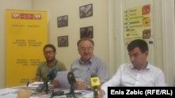 Nemanja Relić, Veljko Džakula i Nikola Ivanović, Zagreb, 21. kolovoza 2013.