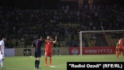 Футбол: Бохти Тоҷикистон ба Урдун