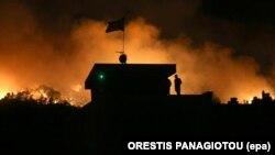 Архивска фотографија: Пожар во Грција