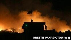Požar u Grčkoj, fotoarhiv