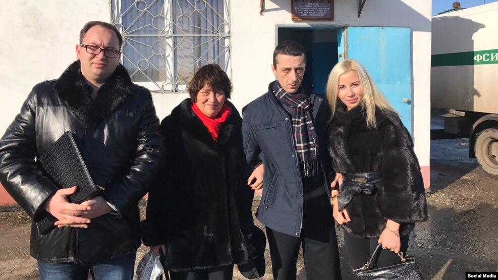 Хайсер Джемилев вышел на свободу