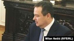 Шефот на српската дипломатија Ивица Дачиќ