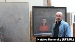 Барыс Забораў у майстэрні