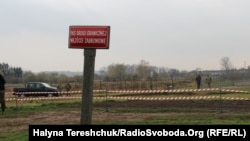 Майбутній пункт пропуску «Мальховіце-Нижанковичі» на польсько-українському кордоні, 22 жовтня 2017 року