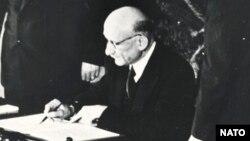 Robert Schuman, 1949.