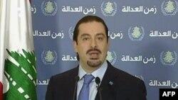سعد حریری، نخستوزیر لبنان که روز شنبه استعفا کرد