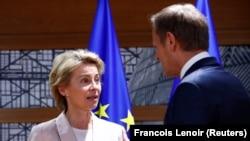 Candidata pentru șefia Comisiei Europene a fost audiată în grupul Renew Europe, condus de Dacian Cioloș.