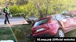 У Севастополі в ДТП загинув пасажир автомобіля