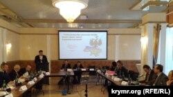 Пресс-конференция по оккупации Россией украинских территорий, 2 декабря 2016 года