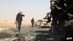 Ракка қаласы маңындағы Сирия көтерілісшілері. (Көрнекі сурет)