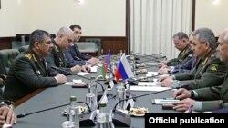 Ռուսաստանի և Ադրբեջանի պաշտպանության նախարարների բանակցությունները, արխիվ