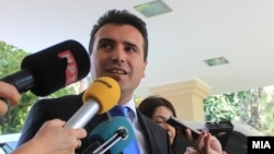 Архивска фотографија: Лидерот на СДСМ, Зоран Заев.