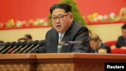 Lideri i Koresë së Veriut, Kim Jong-un.