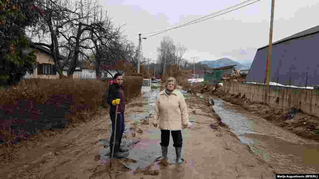 Rijeka Lašva u mjestu Dolac kod Travnika