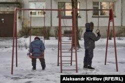 Старорусская детская площадка