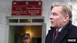 Председатель ОБСЕ и министр иностранных дел Литвы Аудронюс Ажубалис