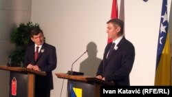 Ahmed Davutoglu i Denis Zvizdić, foto: Ivan Katavić