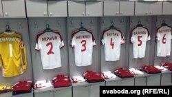 Нові футболки гравців національної збірної Білорусі