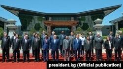 Лидеры 29 государств на форуме в Пекине. 15 мая