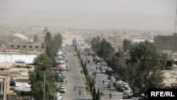 Lashkar Gah, the capital of Helmand Province