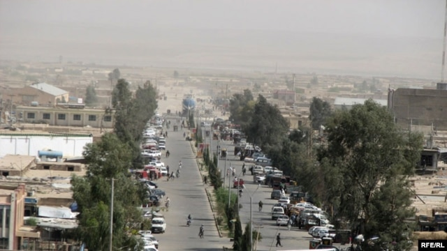 Lashkar Gah, the capital of Helmand Province