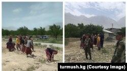 Конфликт на таджикско-кыргызской границе. Архивное фото